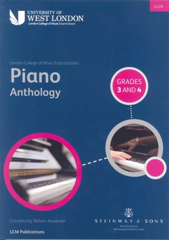 Lcm Piano Anthology: Book 2 Grade 3-4: Piano (LL279 - LCM)
