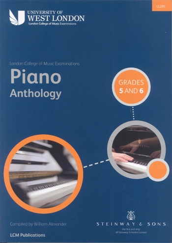 Lcm Piano Anthology: Book 3 Grade 5-6: Piano (LL280 - LCM)