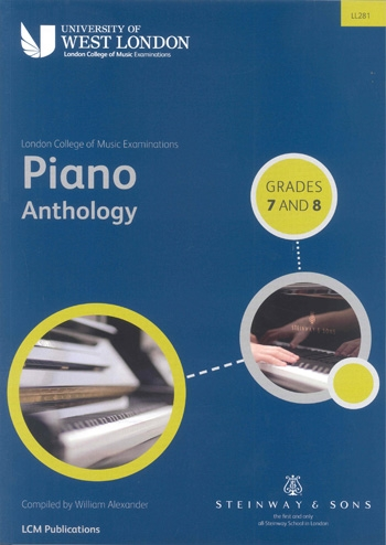 Lcm Piano Anthology: Book 4 Grade 7-8: Piano (LL281 - LCM)