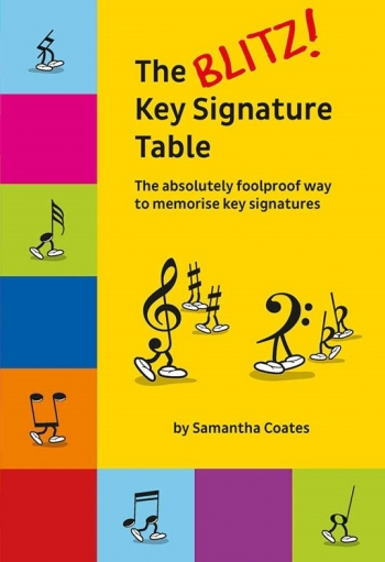 The Blitz! Key Signature Table