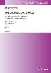 Au Dessous Des Étoiles: Mixed Choir (SATB) (Schott)
