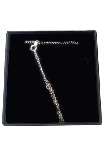 Gift: Necklace/Pendant: Flute Pewter
