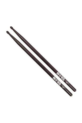 Drum Stick 7A: Vic Firth Nova: Black Hickory Wood Tip