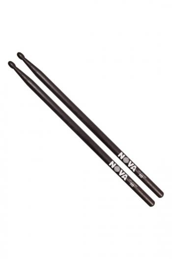 Drum Stick 5B: Vic Firth Nova: Black Hickory Wood Tip