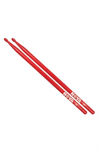Drum Stick 5B: Vic Firth Nova: Red Hickory Wood Tip