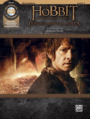 The Hobbit: The Motion Picture Trilogy Instrumental Solos: Alto Saxophone: Book & Cd