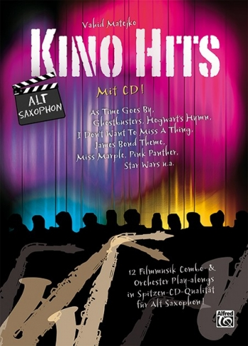 Kino Hits For Alto Saxophone Book & CD