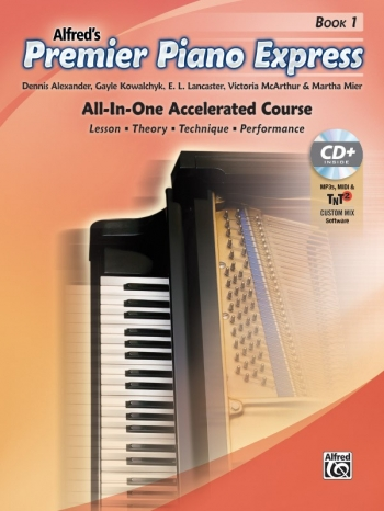 Premier Piano Express, Book 1 All In One Accelerated Course Book & CD