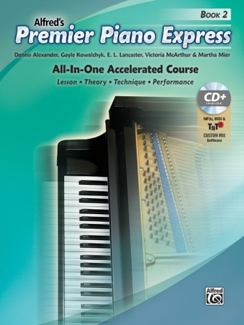 Premier Piano Express, Book 2 All In One Accelerated Course Book & CD