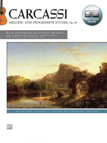 Melodic And Progressive Etudes, Op. 60: Guitar Book & Online Access
