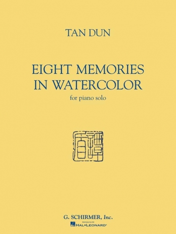 Eight Memories In Water Colour: Piano Solo