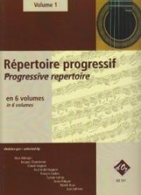 Repertoire Progressif Vol 1: Guitar