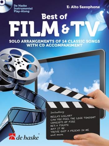 Best Of Film & TV: Alto Saxophone Book & CD