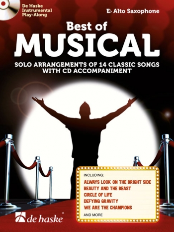 Best Of Musical: Alto Saxophone Book & Cd