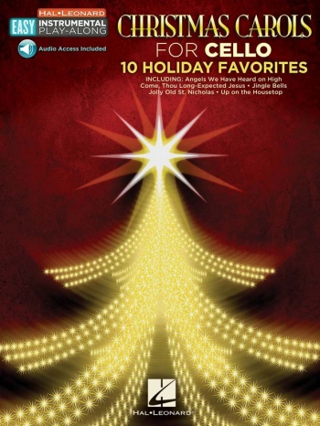 Christmas Carols - Cello 10 Holiday Favourites Book & Audio Access