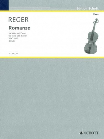 Romanze In G: Violin & Piano (Schott)