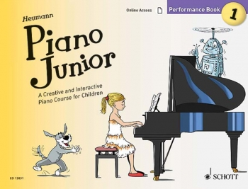 Piano Junior Performance Book 1: Creative And Interactive Piano Course