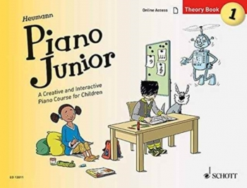 Piano Junior Theory Book 1: Creative And Interactive Piano Course