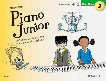 Piano Junior Duet Book 1: Creative And Interactive Piano Course