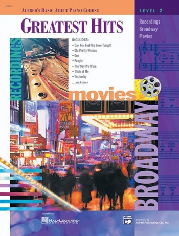 Alfred's Basic Adult Piano Course: Greatest Hits Book 2