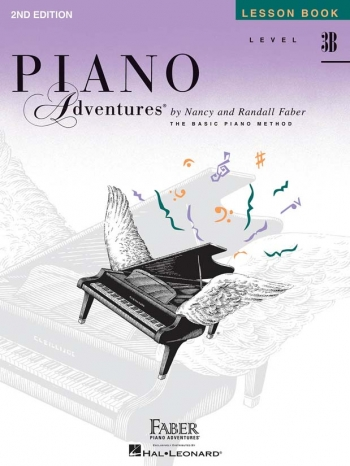 Piano Adventures: Lesson Book Level 3B
