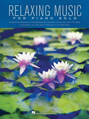 Relaxing Music For Piano Solo: Piano Solo Songbook