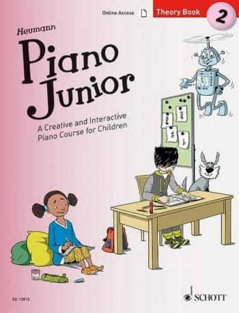 Piano Junior Theory Book 2: Creative And Interactive Piano Course
