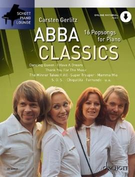Schott Piano Lounge: Abba Classics: Piano: Bk&cd (gerlitz)