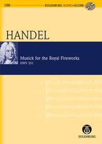 Musick For The Royal Fireworks: Miniature Score & Cd (Audio Series No 100)