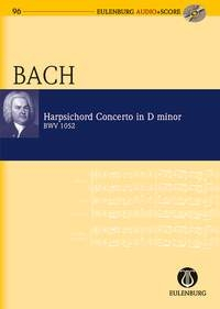 Harpsichord Concerto D Minor: Miniature Score & Cd (Audio Series No 96)