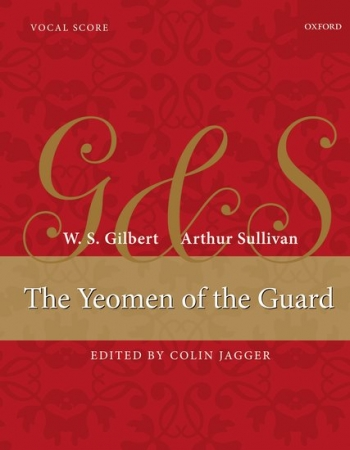 Yeomen Of The Guard: Vocal Score  (Oxford)