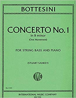 Concerto B Minor: Double Bass & Piano (International)