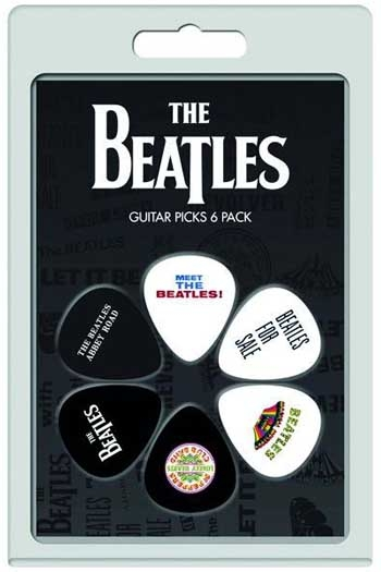 The Beatles: Guitar Picks 6 Pack