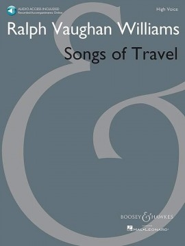 Songs Of Travel: Vocal: High Voice & Piano & Audio Access (B&H)