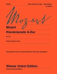Sonata: A: Kv331: Piano - New Edition (Wiener Urtext)