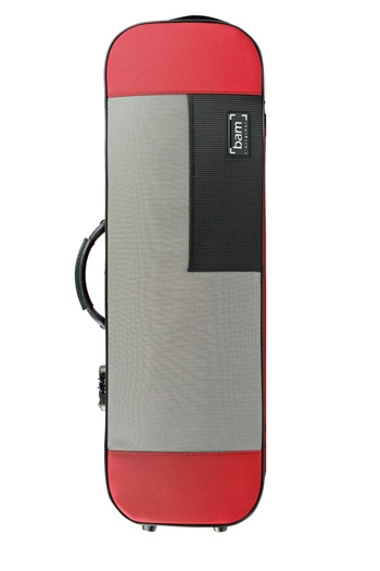 Bam Stylus 5001SR Red Violin Case