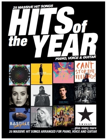 Hits Of The Year 2016: Piano Vocal Guitar