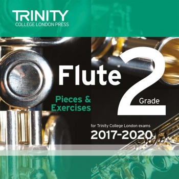 Trinity College London Flute Exam Pieces Grade 2 2017–2020 Cd Only