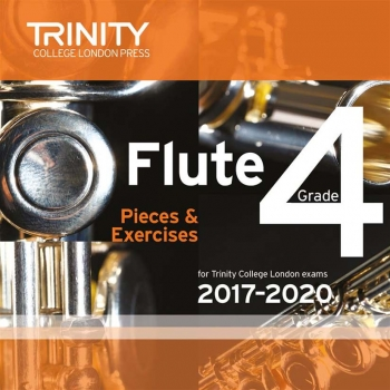 Trinity College London Flute Exam Pieces Grade 4 2017–2020 Cd Only