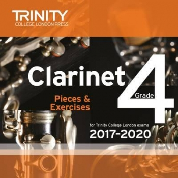 Trinity College London Clarinet Exam Pieces Grade 4 2017–2020 CD Only