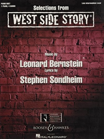 Selections From West Side Story: Piano Duet (Boosey & Hawkes)