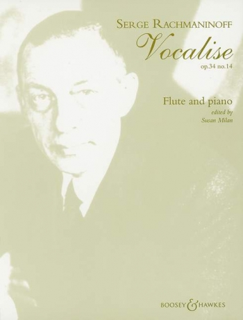 Vocalise, Op. 34/14: Flute & Piano (B&H)