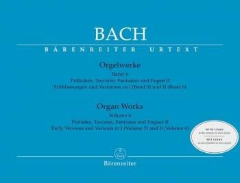 Organ Works Vol 6: Preludes, Toccatas, Fantasias And Fugues II  (Barenreiter)