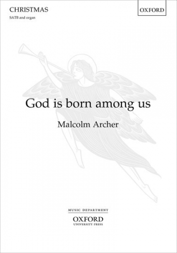 God Is Born Among Us Vocal SATB & Organ