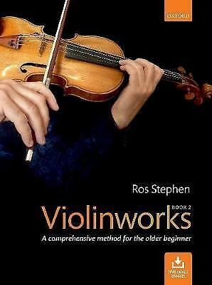 Violinworks Book 2 + CD (Ros Stephen) (OUP)