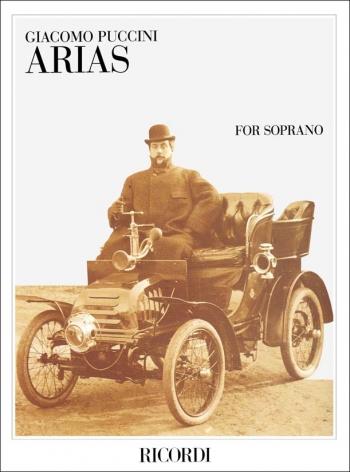 Arias For Soprano: Voice And Piano (Ricordi)