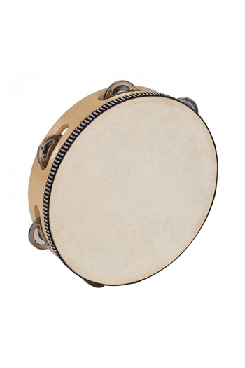 Tambourines Headed 8 Inch 6 Jingles: PP Percussion