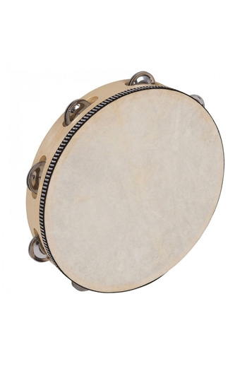 Tambourines Headed 10 Inch 8 Jingles: PP Percussion