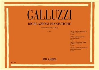 Ricreazioni Pianistiche: Little Melodic Pieces: Vol. 1: Piano Duet
