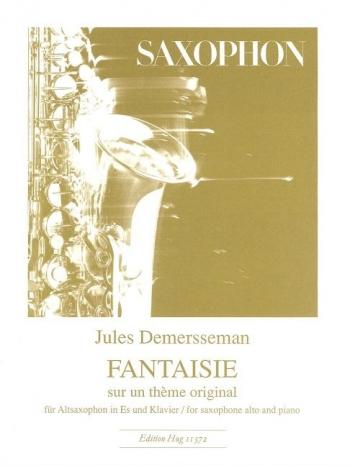 Fantasie Sur Un Theme Originale: Alto Sax & Piano (Hug)